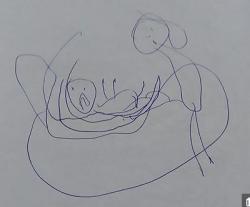 """Bé Gái 5 Tuổi, Vẽ Lại Cảnh """"Em Đã Bị Linh Mục Xâm Hại Tình Dục"""""""